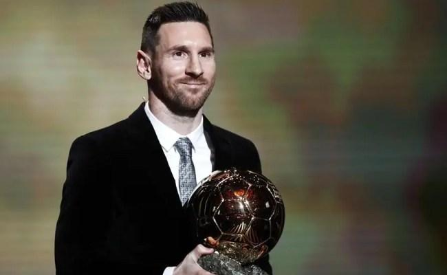 Messi Conquista Su Sexto Balón De Oro Republica