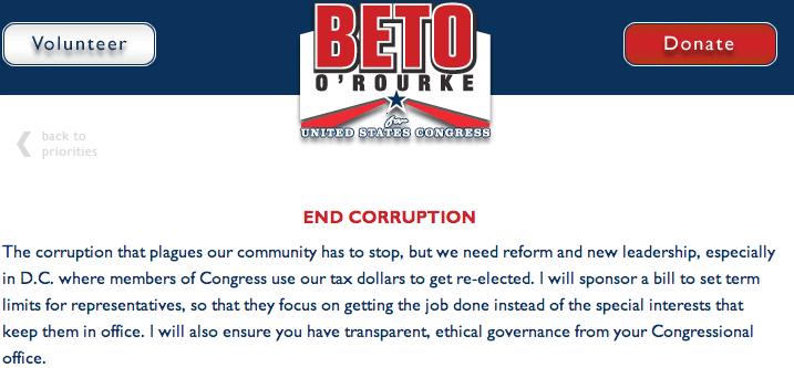 Congressman Silvestre Reyes Loses To Beto O'Rourke; Another Corrupt Democrat Loses His Primary Over Corruption