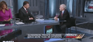 Fox Business Lets For-Profit College Lobbyist Uncritically Deceive Viewers