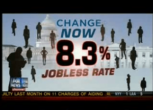 Screen shot from 4-minute anti-Obama ad aired during Fox News regular programming