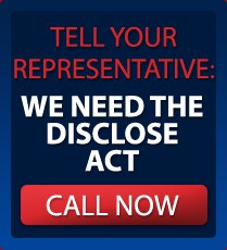 Breaking: Senate Will Hold Vote On The DISCLOSE Act Next Week