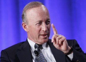 Will Mitch Daniels tell the heads of predatory for-profit colleges that they're doing a great job?