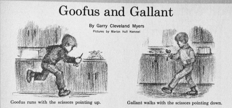 "Trump and Obama Are So Much Like ""Goofus And Gallant"" From Highlights Magazine That It's Insane"