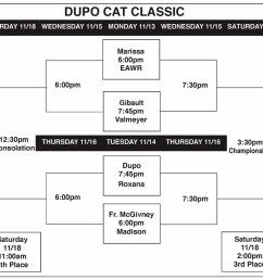 for a printable version of the dupo cat classic girls basketball tournament nov  [ 1000 x 900 Pixel ]