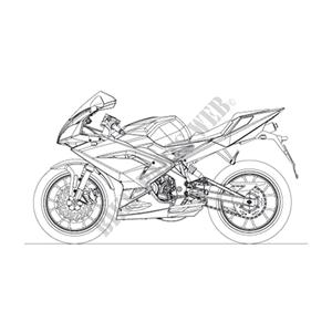 BASTIDOR Cuna BASTIDOR RS 2007 RS 50 APRILIA MOTORCYCLES