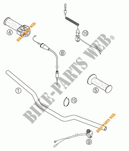 50 SX PRO JUNIOR LC SX 2003 50 KTM Ktm motocicleta # KTM