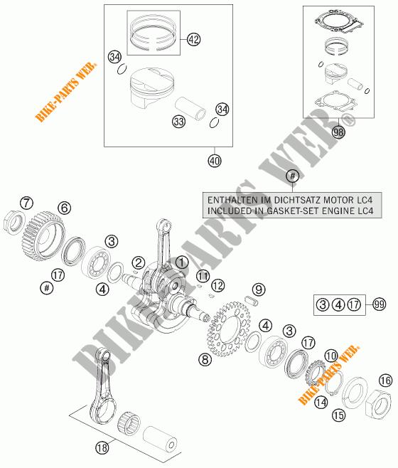 690 ENDURO R ENDURO 2012 690 KTM Ktm motocicleta # KTM