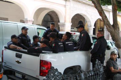 Elementos penitenciarios de Querétaro, violan reglamento de Tránsito Estatal