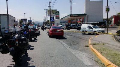 Ciudadanos frustran asalto a cuentahabiente en Paseo Constituyentes