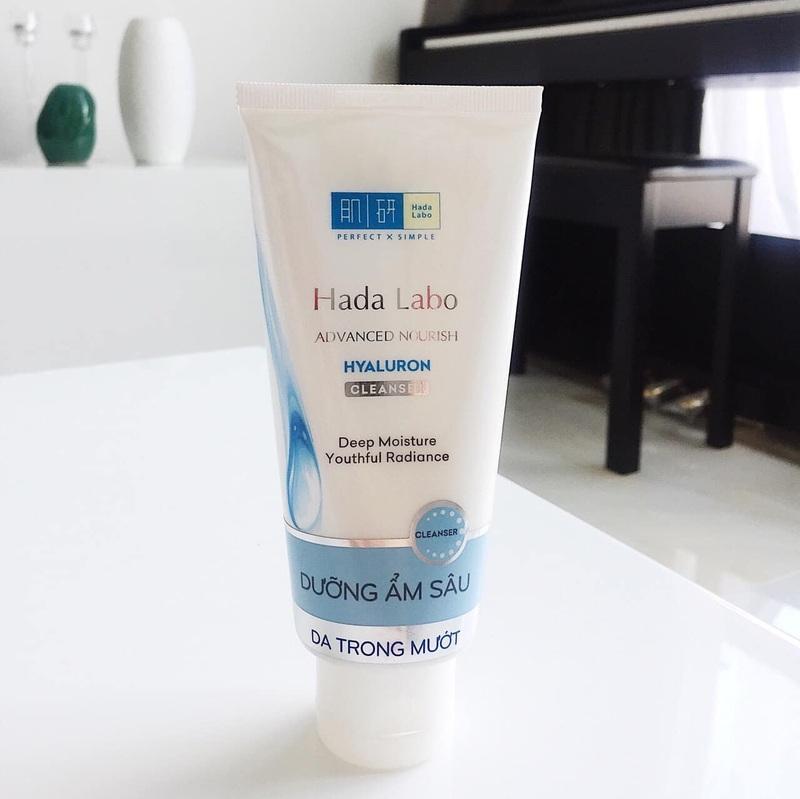 Thiết kế sữa rửa mặt Hada Labo Advanced Nourish