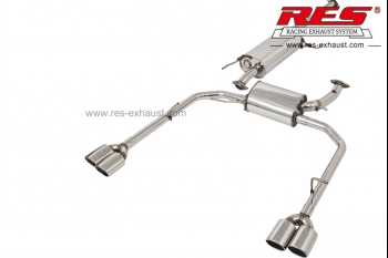 Alphard-Catback System-RES Exhaust » High Performance