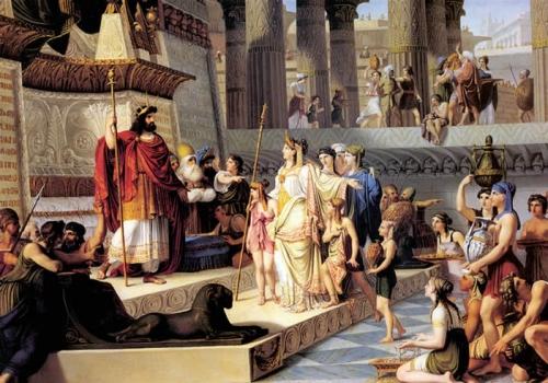 Rei Salomão, terceiro monarca de Israel