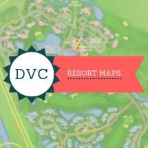 DVC Polynesian Resort Disney Map