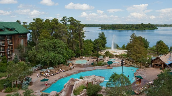 Disney Wilderness Lodge Pool