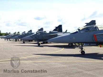 Avioane Gripen, Suedia 2012