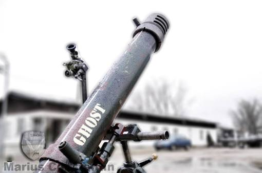 Ghost, aruncător de 120 mm