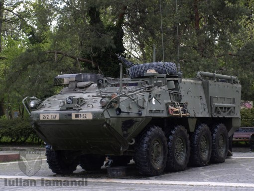 Stryker M1129 Mortar Carrier