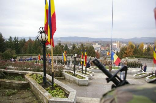 Comemorarea eroului maior p.m. Tiberius-Marcel Petre