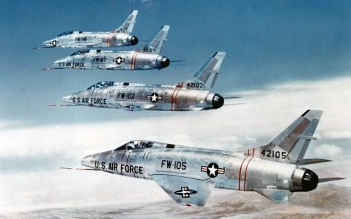 North American F-100C Super Sabre