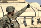 Infanterist Marin american in poligonul Smârdan