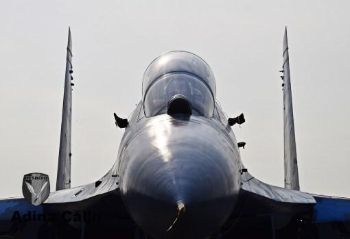 SU-27 Ukraine Air Force Closeup