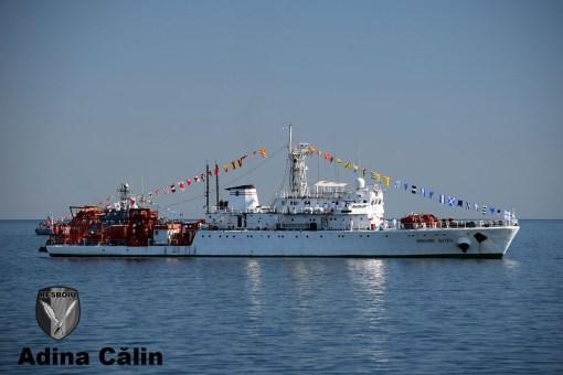 Nava de interventie cu scafandri de mare sdancime Grigore Antipa