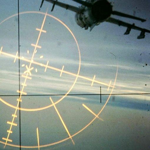 Imagine colimator avion de vanatoare supersonic MiG-21