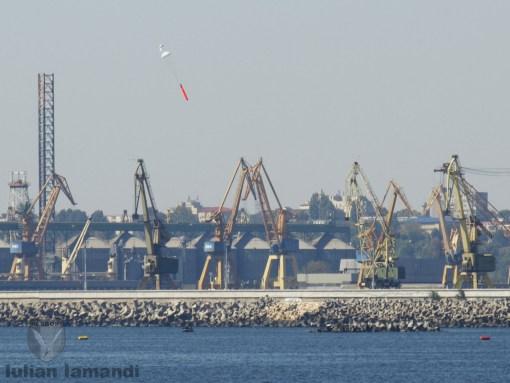 Lansare torpila antisubmarin de exercitiu
