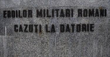 Veșnică pomenire Eroilor noștri