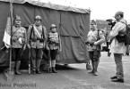 Prezentare de uniforme si echipament din timpul Primului Razboi Mondial