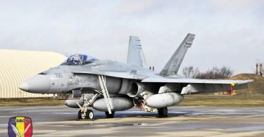 CF-18 Hornet, Baza Aeriană Mihail Kogălniceanu