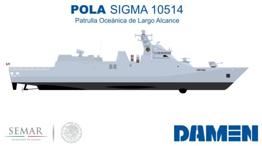 Damen Sigma POLA - Patrulla Oceánica de Largo Alcance