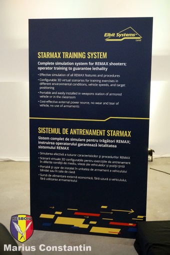 STARMAX Training System - specificatii