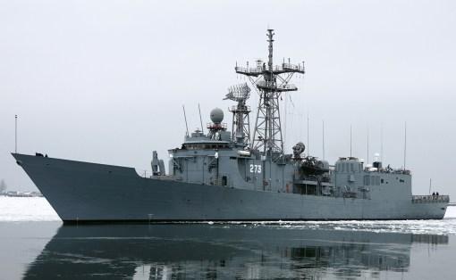 Oliver Hazard Perry class frigate ORP Gen. T. Kościuszko