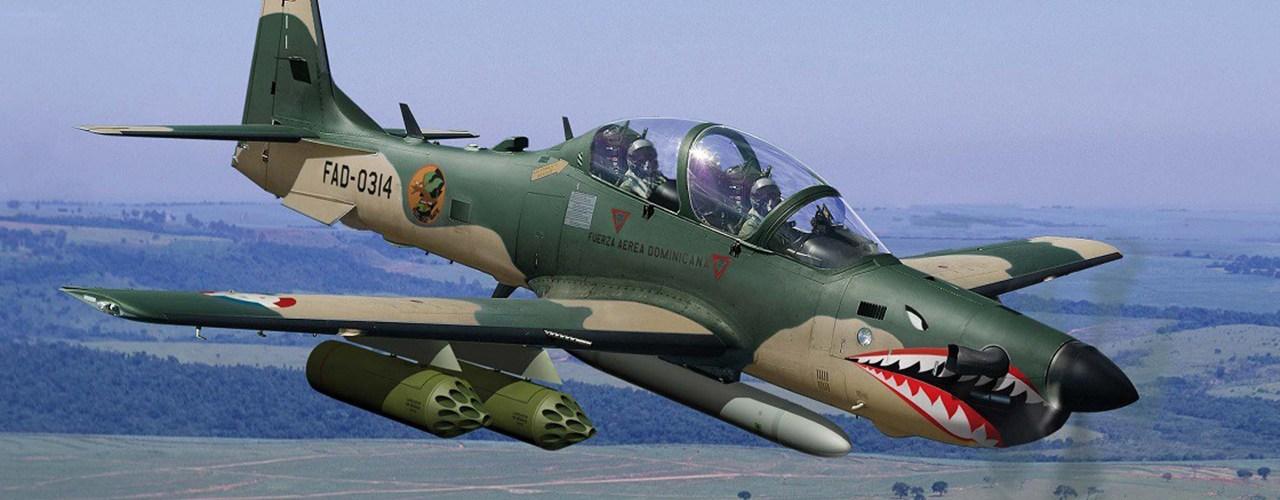 A-29 Super Tucano dominican
