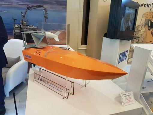 Tinta navala Aselsan Albatros-T