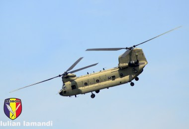 CH-47 Chinook, Saber Guardian 2019 - Bordusani