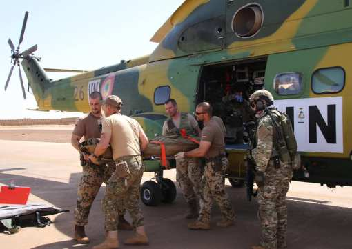 Prima misiune reala executata de militarii romani din Detasamentul Carpathian Pumas in Teatrul de Operatii din Mali