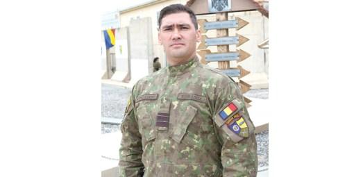 Plutonier-major Marian Muscăloiu