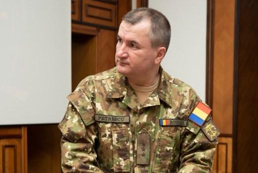Seful Statului Major al Apararii - General-locotenent Daniel Petrescu