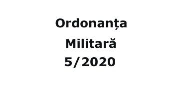 Ordonanta Militara 5 din 30.03