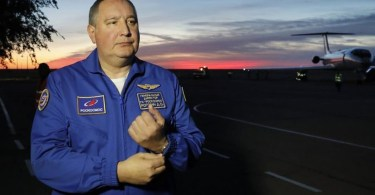Șeful Roscosmos - Dmitry Rogozin