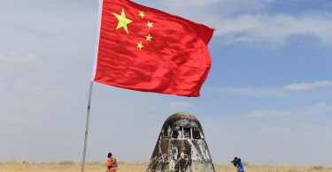 Prototipul viitoarei capsule spatiale cu echipaj a Chinei a revenit pe Pământ