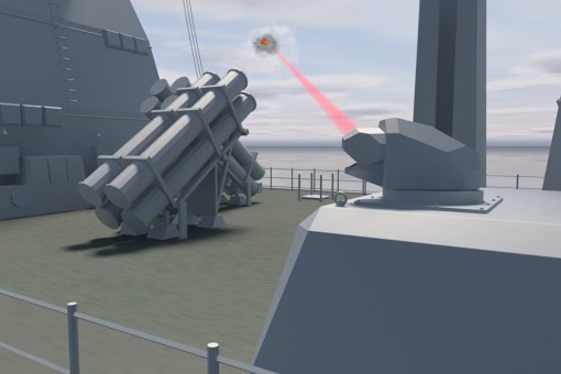 F124 – laser weapon demonstrator