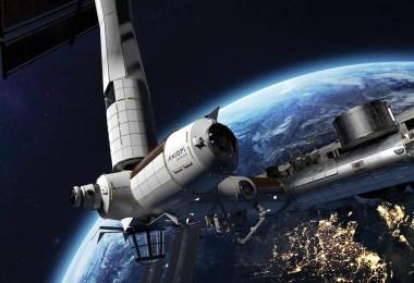 Axiom și ISS