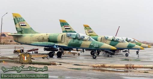 L-39 Albatros siriene