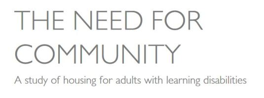 need for community