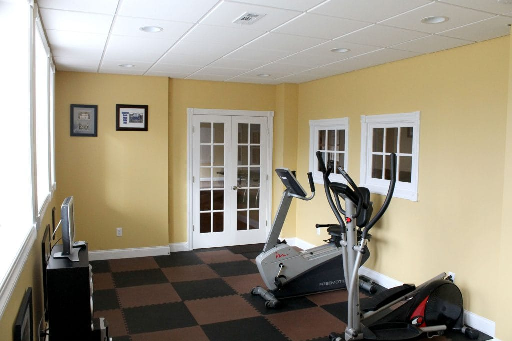 Your Basement Exercise Workout Room and Basement Gym Air