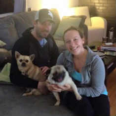 pug Baker adoption picture