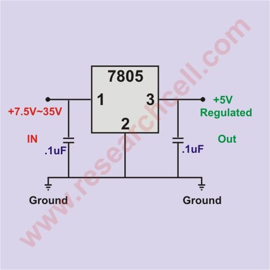 Negative Voltage Regulator Circuit Diagram Electronic Circuit